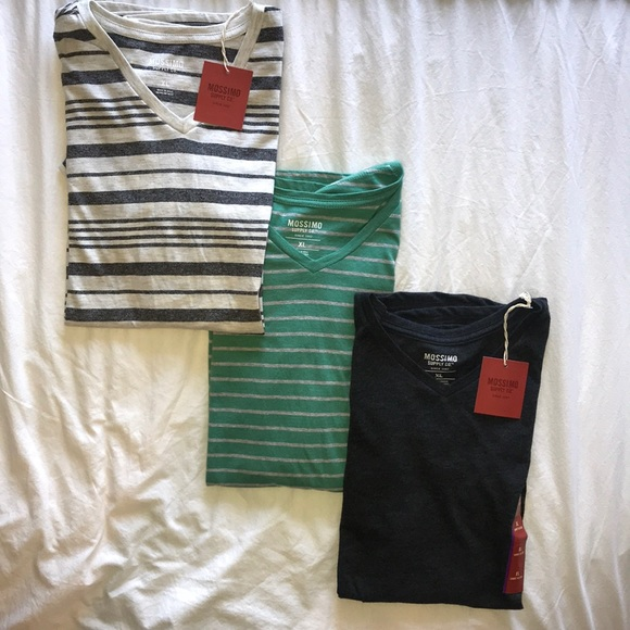 Mossimo Supply Co. Other - 3 Men's Mossimo TShirts